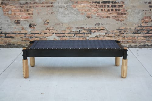 Benches & Ottomans by Laylo Studio seen at Studio 6F, Chicago - Basso Bench