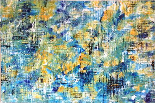 Paintings by John Pimlott seen at Private Residence, Bebington - Helter Skelter