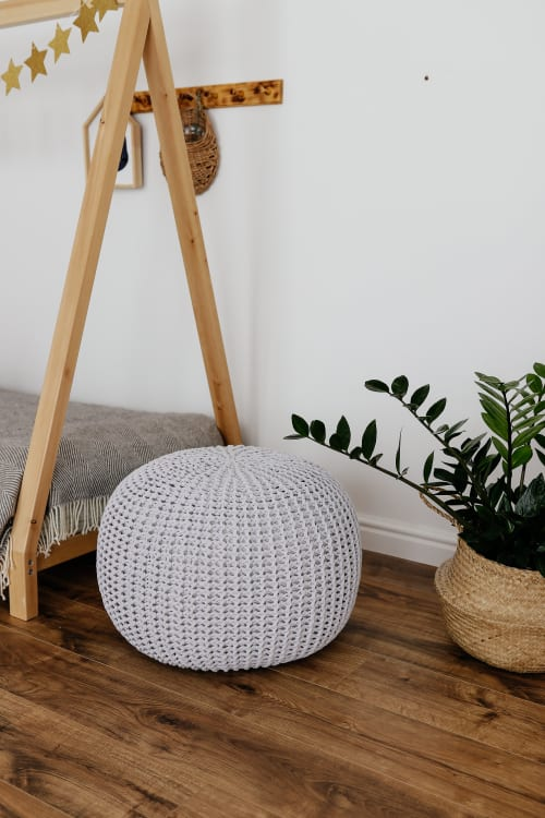 Pouf | Benches & Ottomans by Chasha Home