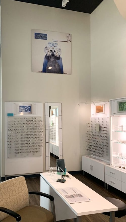 Interior Design by Olsen and Associates seen at Fishman & Sheridan eyeCare Specialists, Clermont - Interior Design