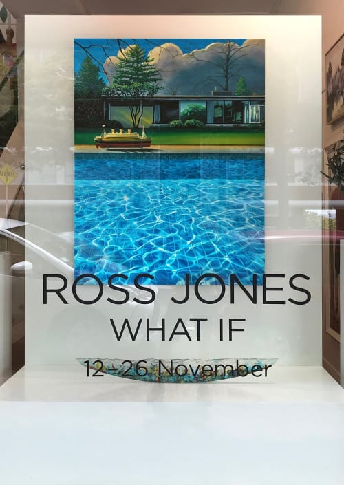 Paintings by ross jones seen at Private Residence, Auckland - Maiden Voyage