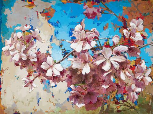 Paintings by David Palmer Studio seen at Pasadena, Pasadena - Cherry Blossoms #3