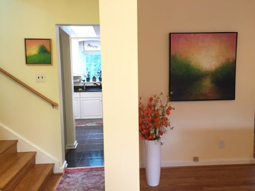 Paintings by Victoria Veedell seen at Private Residence - Light on the Path