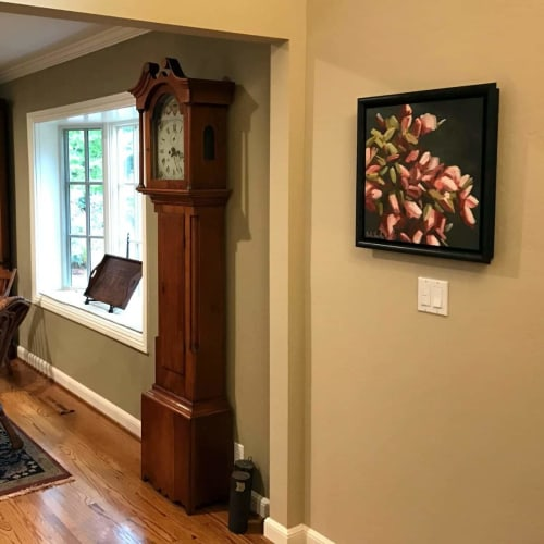 Paintings by Holly Van Hart seen at Private Residence, Saratoga - Blooms Abounding