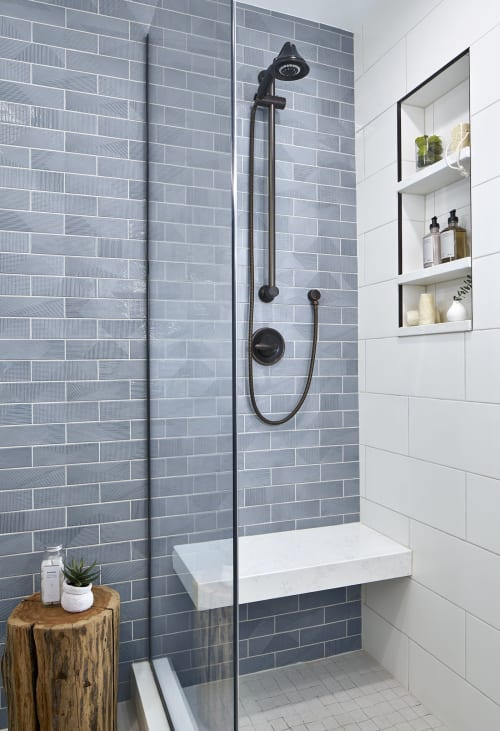 Tiles by TileBar seen at Private Residence, Chicago, Chicago - Tiles