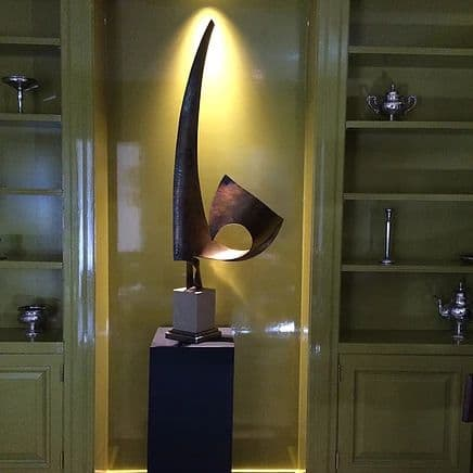 Public Sculptures by Medwedeff Forge and Design seen at Private Residence - Ocoee