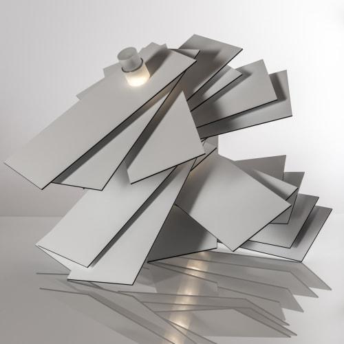 Lamps by Alain Pelletier seen at Artist Studio, Neuvy-Deux-Clochers - VWYZ