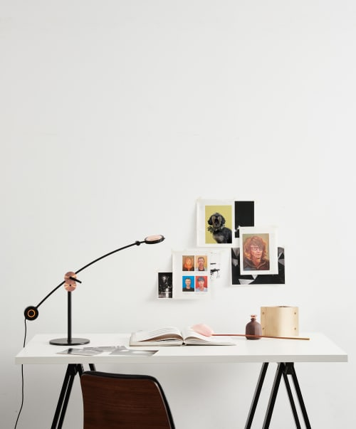 Lamps by SEED Design USA seen at Creator's Studio, Renton - PLANET Table Lamp