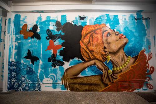 Juliana Fervo - Street Murals and Public Art