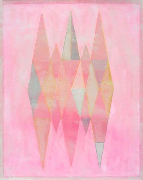 Paintings by Studio Carla P Bertone seen at Private Residence, Berlin - Paper works Turin Serie