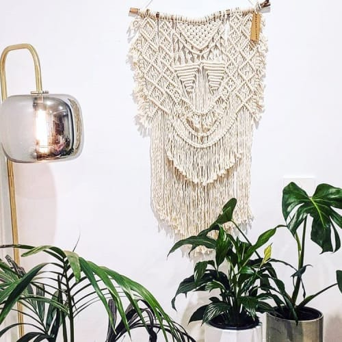 Macrame Wall Hanging by Hanmademacrame seen at Private Residence, Melbourne - Macrame Wall Hanging