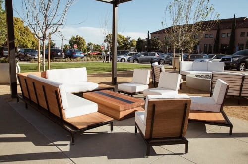 Furniture by Moniker Design seen at Liberty Public Market, San Diego - Outdoor Living Room