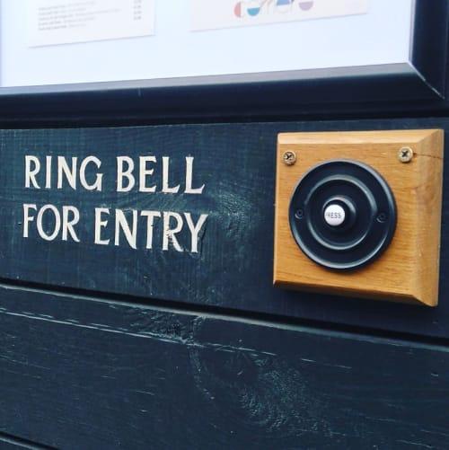 Signage by Journeyman Signs (TATCH) seen at Camera, Edinburgh - Camera Bar