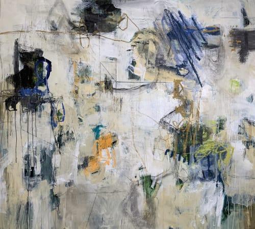 Paintings by Rhenda Saporito seen at Studio Stella!, New Orleans - RhendaSaporito.com