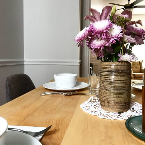Tables by Humble Hand Co. seen at Private Residence, Carlisle - Dining Table