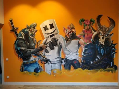 Berok - Murals and Street Murals