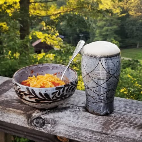 Cups by Joel Willson seen at Private Residence, Rapid City - Ceramic Tumbler