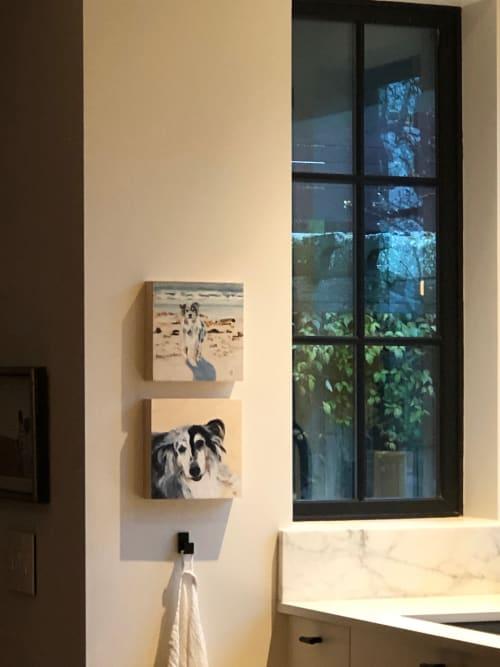 Paintings by Alli van Gruen Art seen at Vancouver Island - Chaos