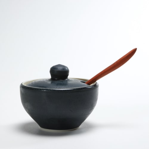 Tableware by Paula West Pottery LLC seen at Duck Soup, Friday Harbor - Salt Bowl