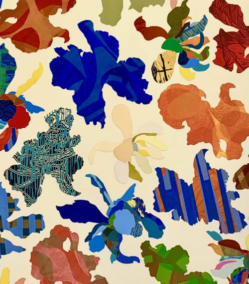 Art & Wall Decor by Fernando Reyes Fine Art seen at Creator's Studio, Oakland - Blooming Irises