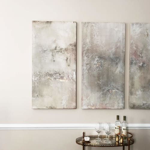 Paintings by EMILY POPE HARRIS ART seen at Private Residence, Charleston - Commissioned Art