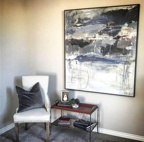 Paintings by Kym De Los Reyes Art at Private Residence, Coronado - Abstract Painting