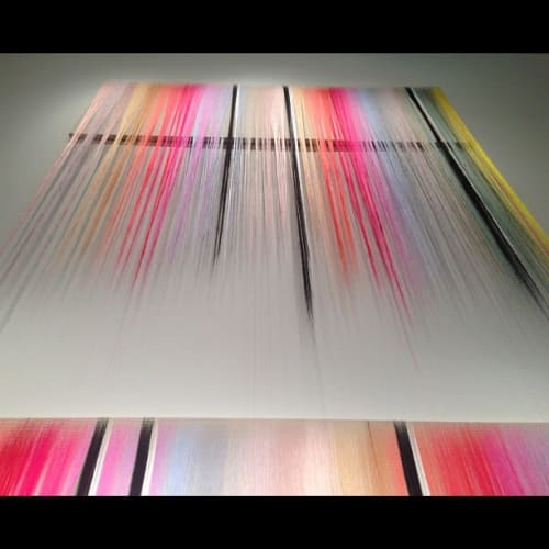 Wall Hangings by Nike Schroeder Studio seen at Private Residence, Los Angeles - MOAH Installation
