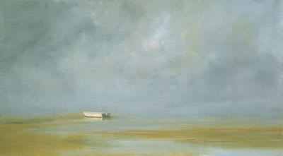 "Art & Wall Decor by YJ Contemporary seen at East Greenwich, East Greenwich - Anne Packard ""Low Tide"""