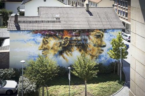 Daniel Thouw - Street Murals and Paintings