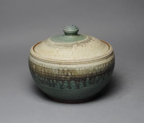 Tableware by John McCoy Pottery seen at Private Residence, Athens - Covered casserole