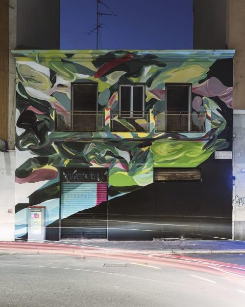 Murals by giorgio bartocci seen at Milan, Milan - Rebirth