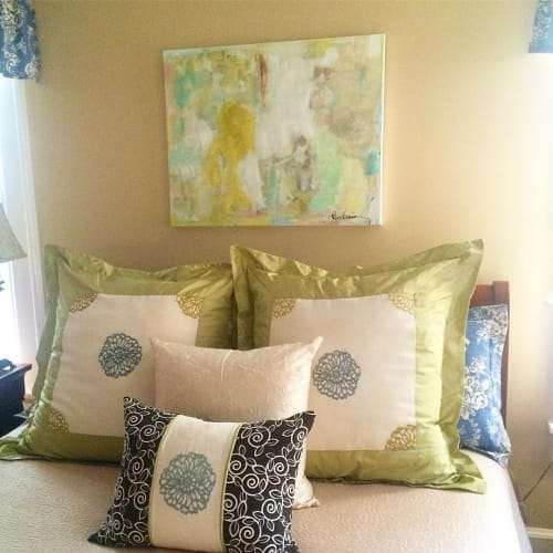 Paintings by Kim Kreis Art at Private Residence - Abstract Painting