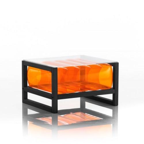 EKO YOKO BLACK WOOD  / COFFEE TABLE | Tables by MOJOW