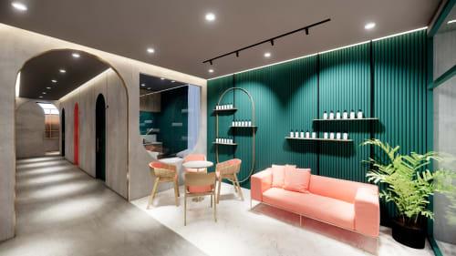 Interior Design by Studio Hiyaku seen at Greystanes Shopping Centre, Greystanes - Essence Clinic
