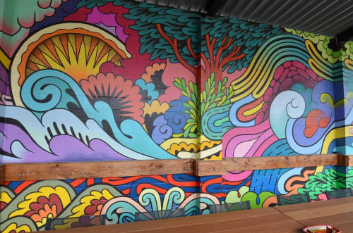 C2K   Murals by Rather Severe   C2K Architecture, Inc. in Portland
