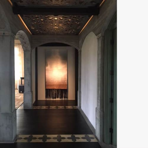 Wall Hangings by Dougall Paulson seen at Private Residence, Los Angeles - Moontide 3