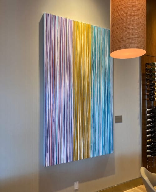 Paintings by Marthann Masterson seen at The Westin Houston Medical Center, Houston - A Time And A Place Of Joy