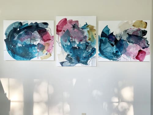 Paintings by Pamela J. Black seen at Private Residence, Virginia Beach - Commissioned Paintings
