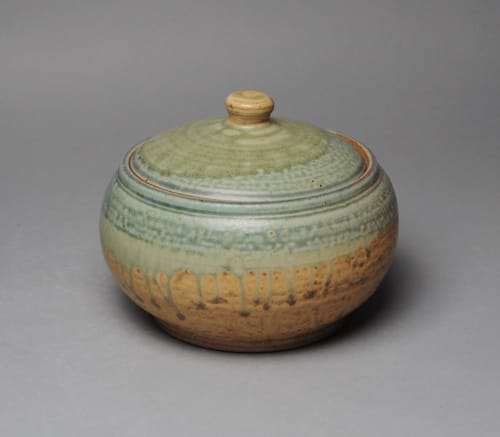 Tableware by John McCoy Pottery seen at Private Residence, Williamsburg - Covered Casserole