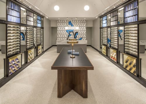 Murals by Nishant Choksi seen at Warby Parker Scottsdale, Scottsdale - Warby Parker Mural