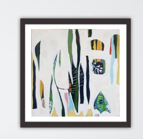 Paintings by Jessica Ruth Freedman seen at Private Residence, Victoria - Floresta