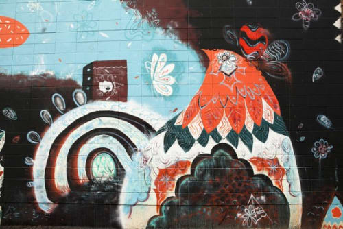Street Murals by Max Kauffman seen at 571 20th St, Oakland, CA, Oakland - Past, Present, and Future