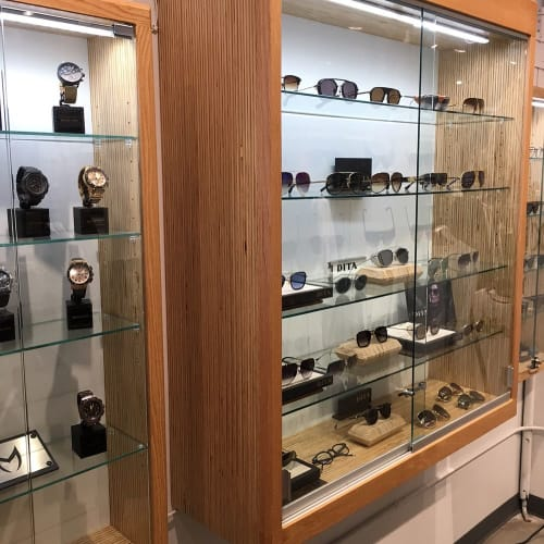 Furniture by HerlanderArt seen at Probus, New York - Display Cabinets