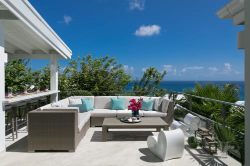 Interior Design by ANA Interiors Ltd seen at Private Residence, Cole Bay - Interior Design