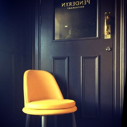 Chairs by Anesis, Comfortable Designs seen at Brown's Hotel, Laugharne - Atia Chair