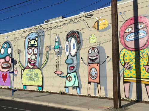 Gary Hirsch (botjoy) - Murals and Street Murals
