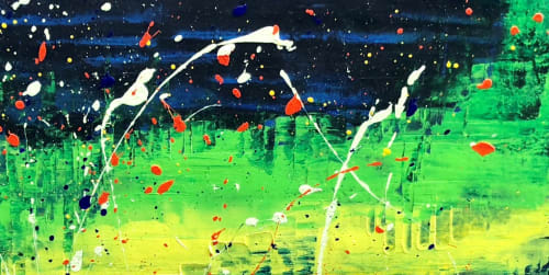 Paintings by Alicent Art seen at Private Residence, London, London - Eclipse