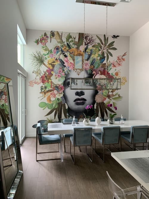 Art & Wall Decor by The House of Artists seen at London, London - Wallcovering installations