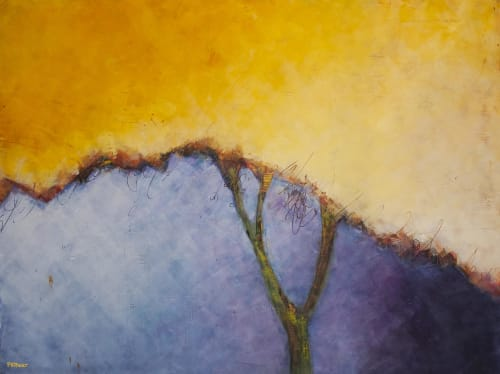 Paintings by Pamela K Beer Contemporary Fine Art seen at Creator's Studio, Sammamish - Palo Verde Maybe