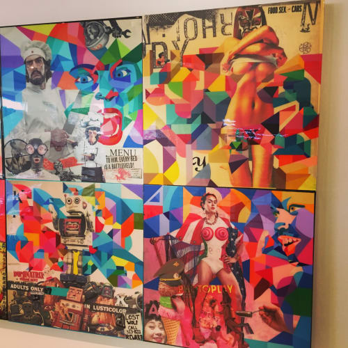 Art Curation by Moleiro Artwork at Moore Building, Miami - The Good, the Bad and the Ugly.